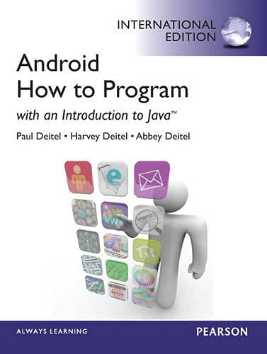 9780273776888: Android: How to Program :International Edition:With an Introduction toJava