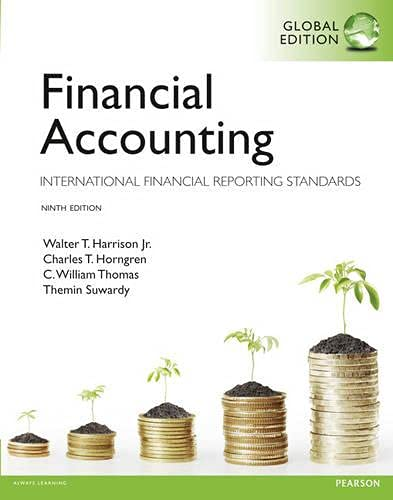 Financial Accounting: Walter T Harrison,
