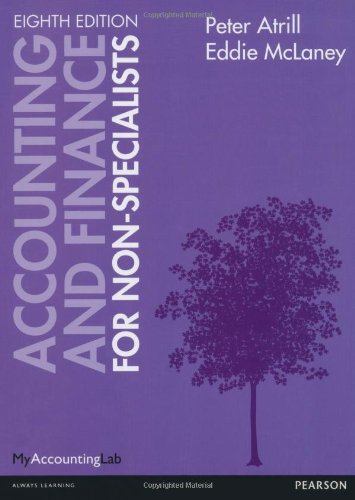 9780273778035: Accounting and Finance for Non-Specialists