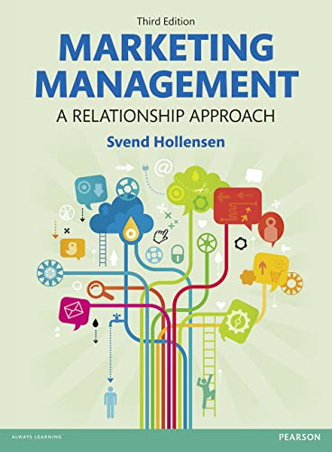 9780273778851: Marketing Management: A Relationship Approach