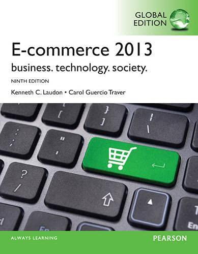 9780273779353: E-commerce 2013