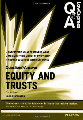 9780273783510: Equity and Trusts (Law Express Questions & Answers)