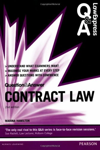 9780273783671: Contract Law: Uk Edition (Lawexpress Q & a)