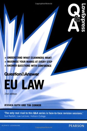 9780273784180: EU Law (Law Express Questions & Answers)