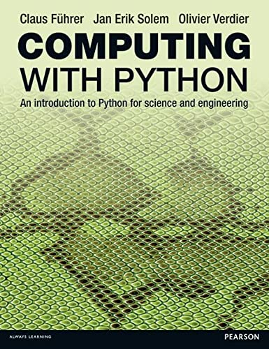 9780273786436: Computing With Python: An Introduction to Python for Science & Engineering