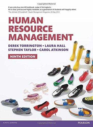 Human Resource Management: Atkinson, Carol, Taylor,