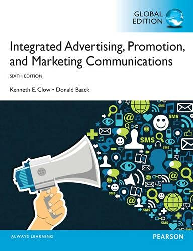 9780273786986: Integrated Advertising, Promotion and Marketing Communications