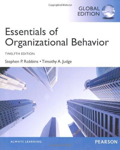 9780273787013: Essentials of Organizational Behavior, Global Edition