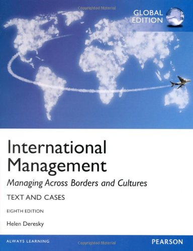 9780273787051: International Management, Global Edition