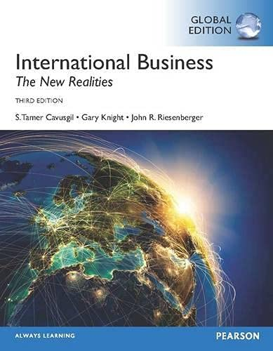 9780273787068: International Business: The New Realities
