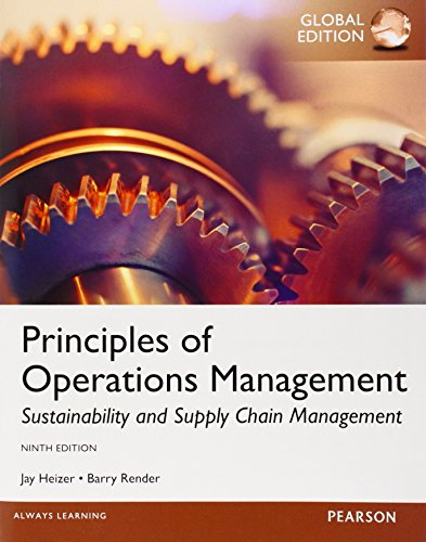 9780273787082: Principles Of Operations Management, Global Edition