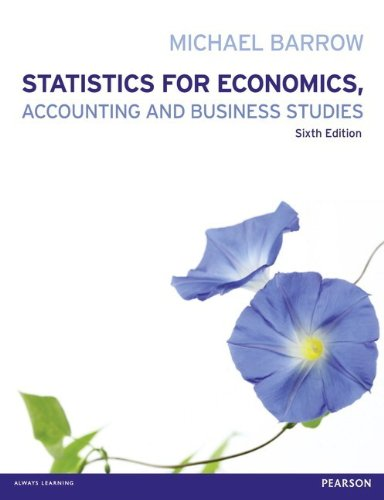 9780273788508: Statistics for Economics, Accounting and Business Studies with MyMathLab Global access card