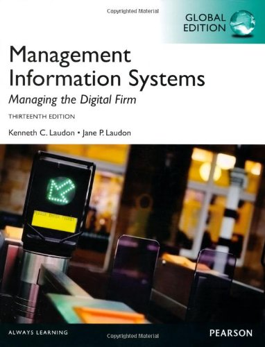9780273789970: Management Information Systems, Global Edition