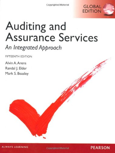 9780273790006: Auditing and Assurance Services: An Integrated Approach