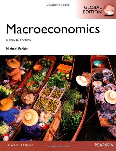 Macroeconomics, Global Edition: Parkin, Michael