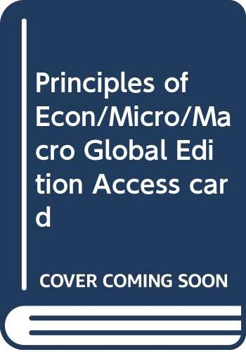 9780273791591: Principles of Economics Access Card