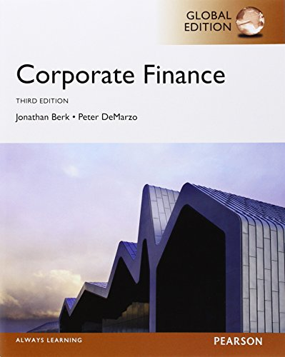 9780273792024: Corporate Finance, Global Edition