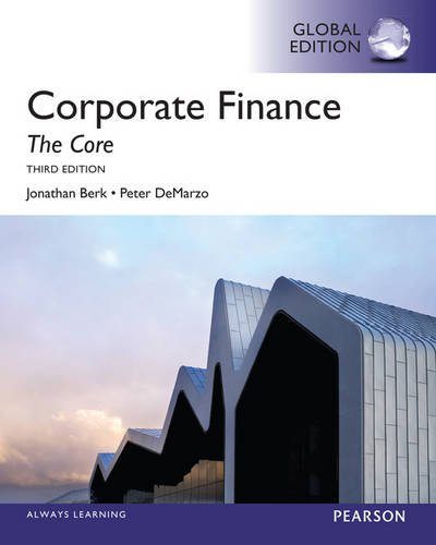 9780273792161: Corporate Finance: The Core