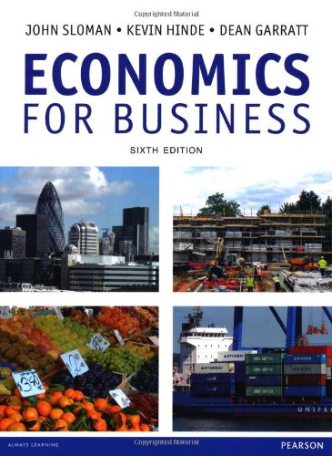 Economics for Business: Sloman, John; Hinde,
