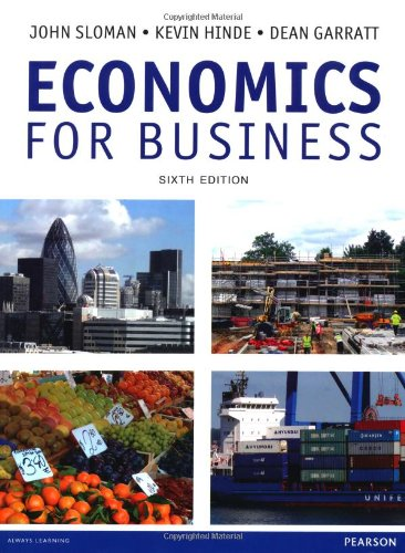 9780273792598: Economics for Business