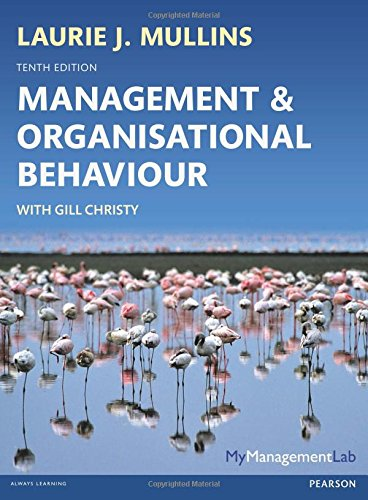 9780273792642: Management and Organisational Behaviour