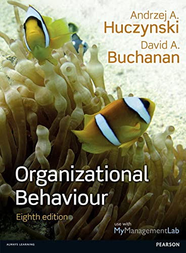 9780273792802: Organizational Behaviour, plus MyManagementLab with Pearson eText, 8/e