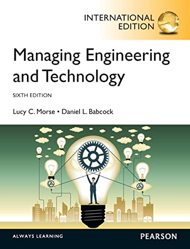 9780273793229: Managing Engineering and Technology, International Edition
