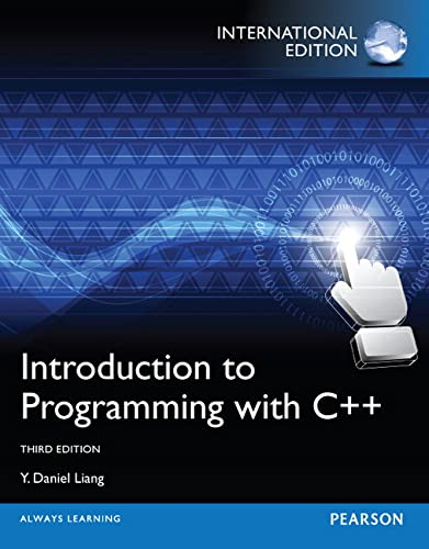 9780273793243: Introduction to Programming with C++,International Edition