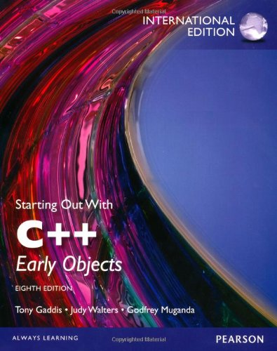 9780273793311: Starting Out with C++: Early Objects, International Edition