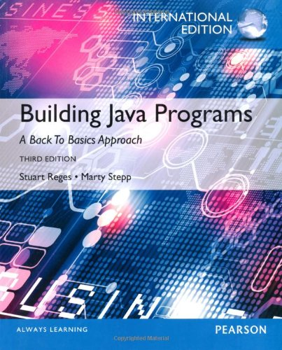 9780273793335: Building Java Programs