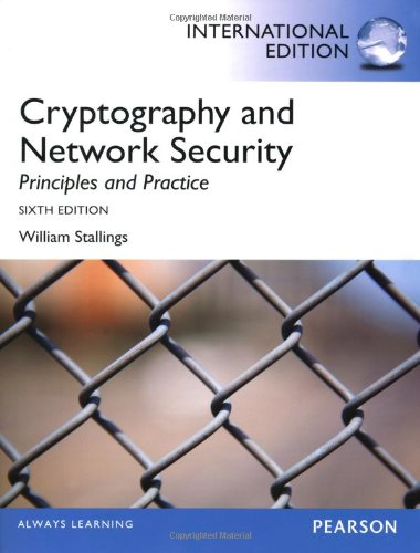 9780273793359: Cryptography and Network Security: Principles and Practice, International Edition
