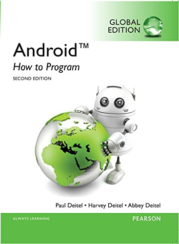 9780273793397: Android: How to Program, Global Edition