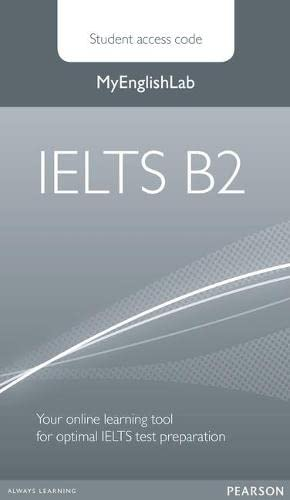 9780273794295: IELTS Global Level B2 MyEnglishLab & Student PIN Code (Exam MELs)