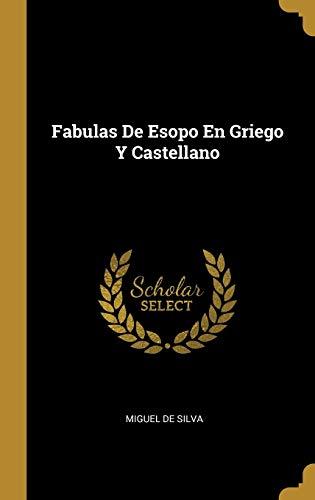 9780274105106: Fabulas De Esopo En Griego Y Castellano
