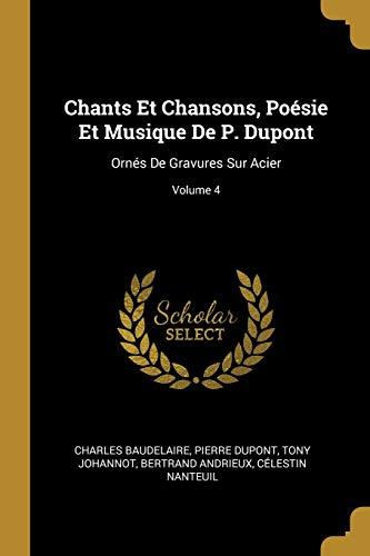 Chants Et Chansons, Poesie Et Musique de: Tony Johannot, Pierre