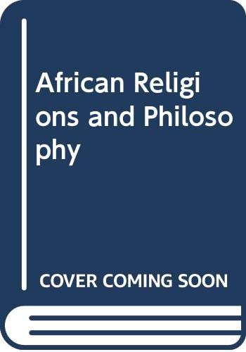 9780275258405: Introduction to African Religion