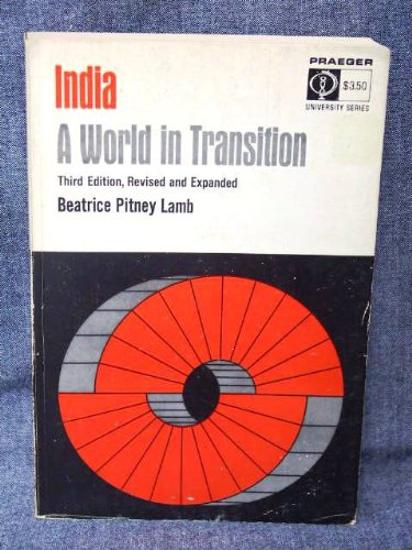 9780275335106: India; a world in transition