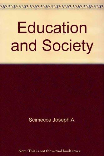 9780275858001: Education and Society