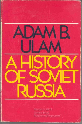 9780275892609: A History of Soviet Russia