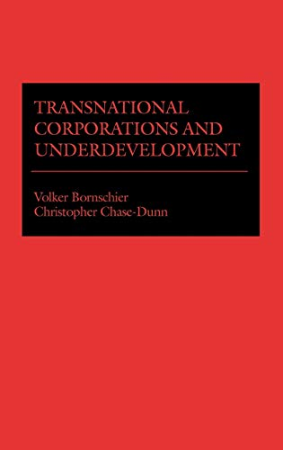 9780275900632: Transnational Corporations and Underdevelopment.