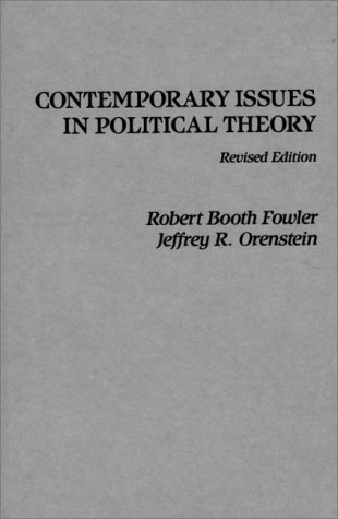 9780275901028: Contemporary Issues in Political Theory