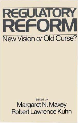 9780275901455: Regulatory Reform