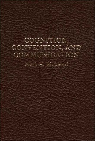 9780275904555: Cognition, Convention, and Communication.