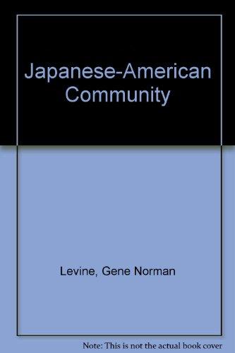 9780275906689: Japanese-American Community: A Three-Generation Study