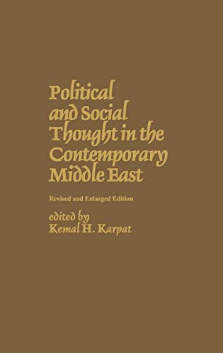 9780275908348: Political and Social Thought in the Contemporary Middle East