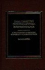 9780275911133: The Literature of International Business Finance: A Bibliography of Selected Business and Academic Sources