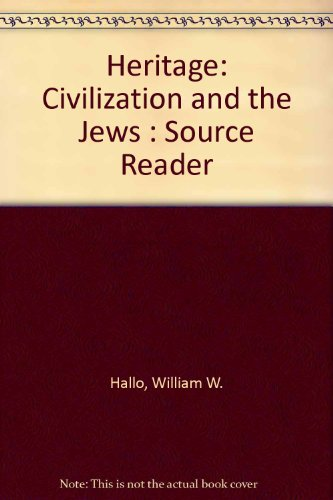 9780275911836: Heritage: Civilization and the Jews: Source Reader
