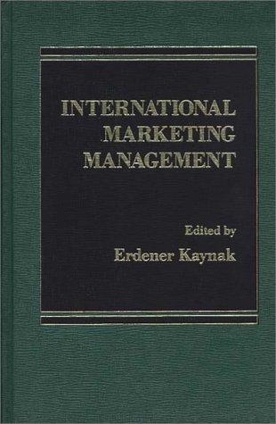 9780275912031: International Marketing Management