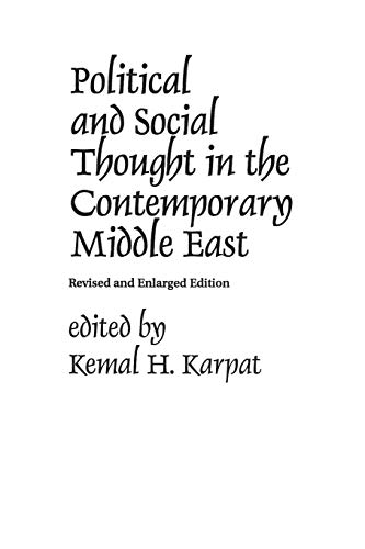 9780275915414: Political and Social Thought in the Contemporary Middle East