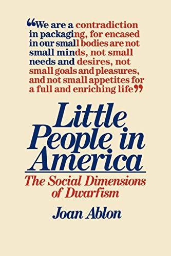 9780275915964: Little People in America